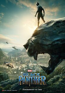 Marvel Studios' Black Panther European Spanish Teaser Poster