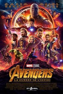 Marvel Studios' Avengers Infinity War Canadian French Poster
