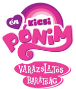 My Little Pony Friendship Is Magic - fanmade logo (Hungarian)