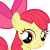 Apple Bloom (My Little Pony Friendship Is Magic) - head