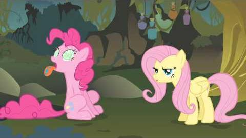 S01E09 Je to čarodějnice; zpívá Fluttershy (Evil Enchantress Song; Fluttershy 's rendition) Czech