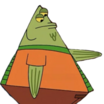 Flats the Flounder (SpongeBob SquarePants) - head