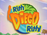 Go Diego Go! - title card (Irish)