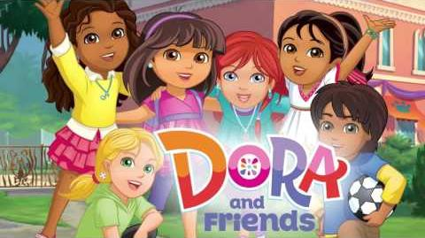 Dora and Friends Into the City! - theme song (German)