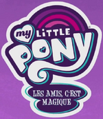 My Little Pony Friendship Is Magic - logo (French, season 7)