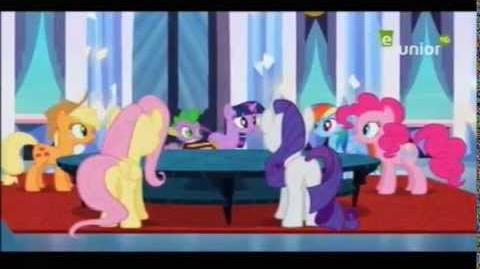 The Ballad of the Crystal Empire Arabic Version (TV recording)