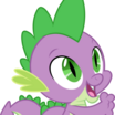 Spike (My Little Pony Friendship Is Magic) - head