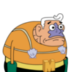 Mermaid Man (SpongeBob SquarePants) - head