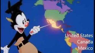 Nations of the World - With Lyrics - Animaniacs