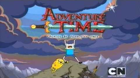 Adventure Time - theme song and credits (Danish)