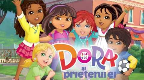Dora and Friends Into the City! - theme song (Romanian)