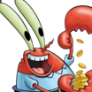 Eugene Krabs (SpongeBob SquarePants) - head