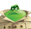 Le Frog (Flushed Away) - head