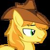 Braeburn (My Little Pony Friendship Is Magic) - head