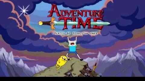 Adventure Time - theme song (Hungarian)