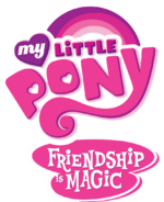 My Little Pony Friendship Is Magic - logo (English)