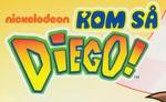 Go Diego Go! - logo (Danish)