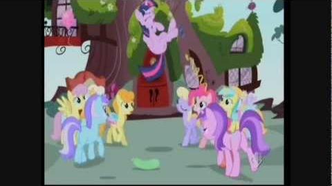 My little pony l'amicizia è magica - canzone la canzone del biglietto