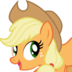 Applejack (My Little Pony Friendship Is Magic) - head