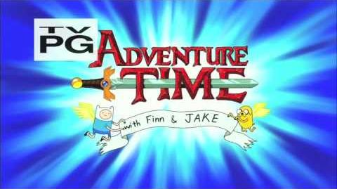 Adventure Time Intro Danish NTSC