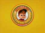ALVINNN!!! and the Chipmunks - title card (Danish)