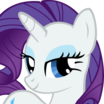 Rarity (My Little Pony Friendship Is Magic) - head