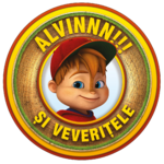 ALVINNN!!! and the Chipmunks - logo (Romanian)