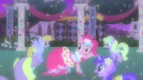 My Little pony friendship is magic At the gala (Greek)