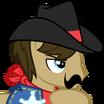 Sheriff Silverstar (My Little Pony Friendship Is Magic) - head