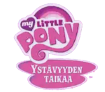 My Little Pony Friendship Is Magic - logo (Finnish)