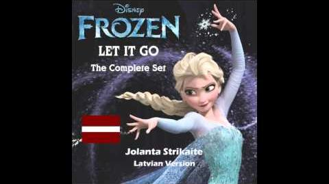 Let It Go (song) - Latvian