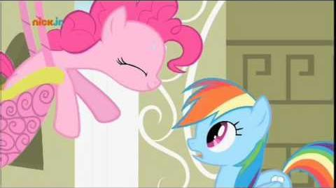 Pinkie Pies gesungenes Telegramm (Pinkie Pie's Singing Telegram) German