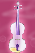 Divine Violin w. Background