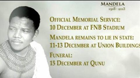 A tribute to Nelson Mandela SABC TV live coverage