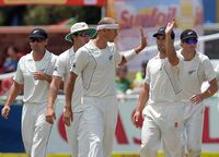 New Zealand cricket team in South Africa in 2012–13