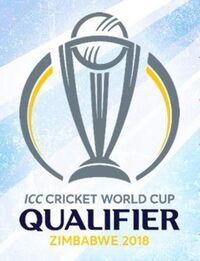 2018 Cricket World Cup Qualifier official logo