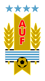 Uruguay football association svg