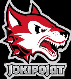 Jokipojat hockey team logo