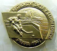 1947 IIHF World Championship Gold Medal