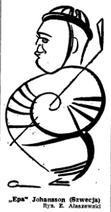 Johansson Caricature