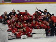 Швейцария Женская сборная 2014