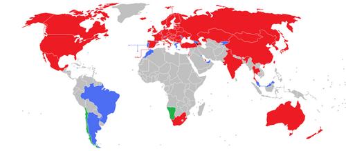 IIHF Member Nations