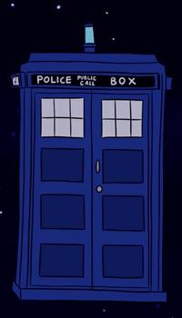 Bad Days TARDIS Exterior