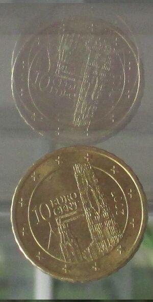 EuroMunze anverso 1748