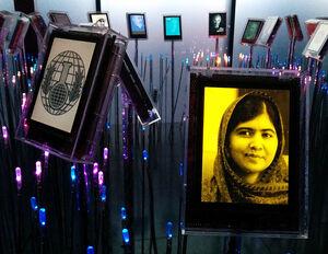Expo at Nobel Peace Center - Malala Yousafzai 2014-10-10