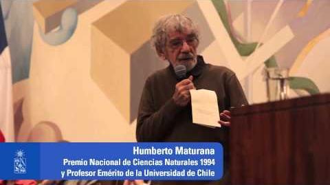 """Charla Magistral """"Educación, ética y democracia"""" del Profesor Humberto Maturana"""