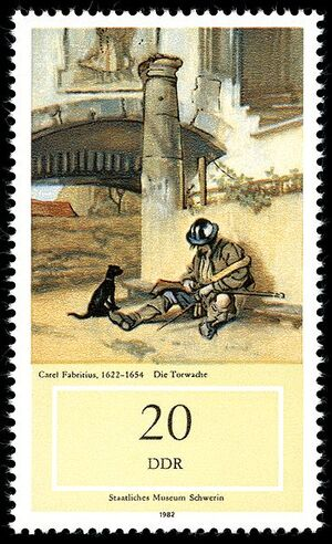 Fabritius-Stamps of Germany (DDR) 1982, MiNr 2728