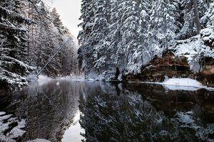 Talv Väike-Taevaskojas