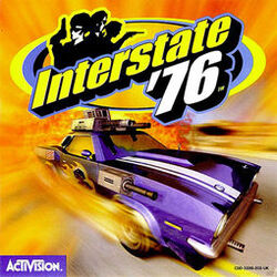 Interstate '76 Box Cover