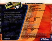 Interstate '76 Soundtrack-Back